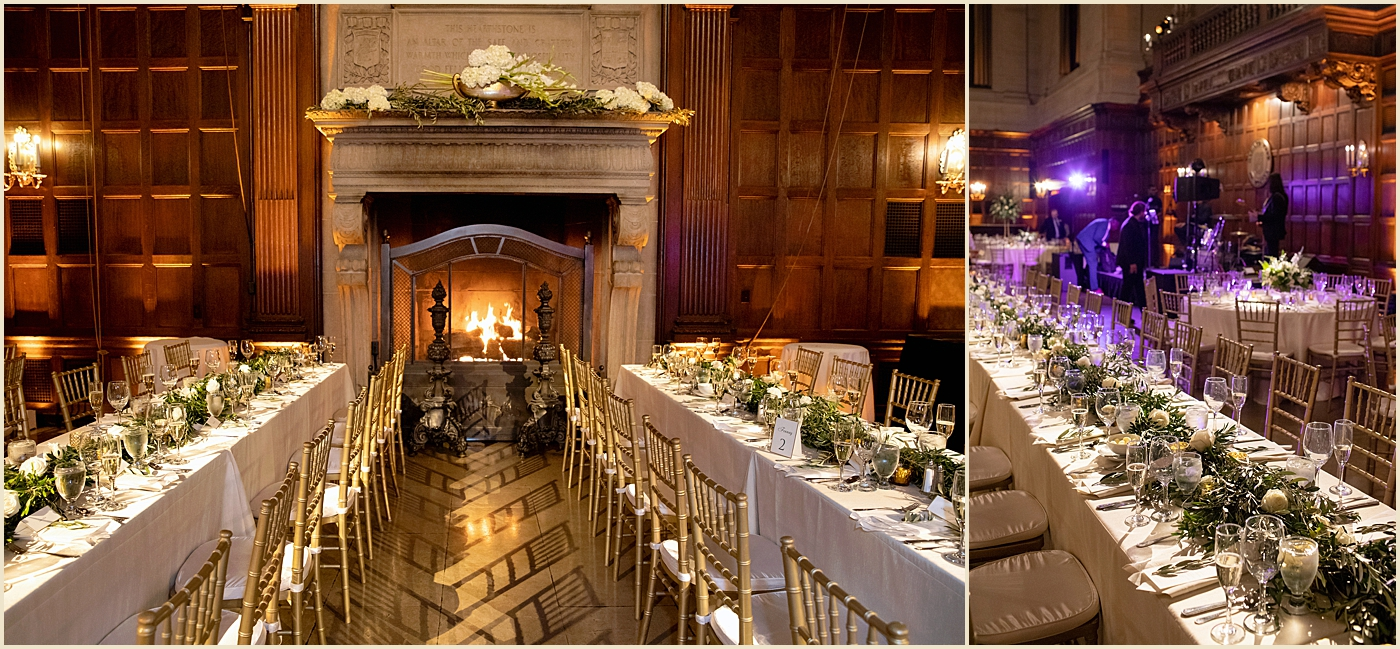 Harvard Club Boston Wedding Venue