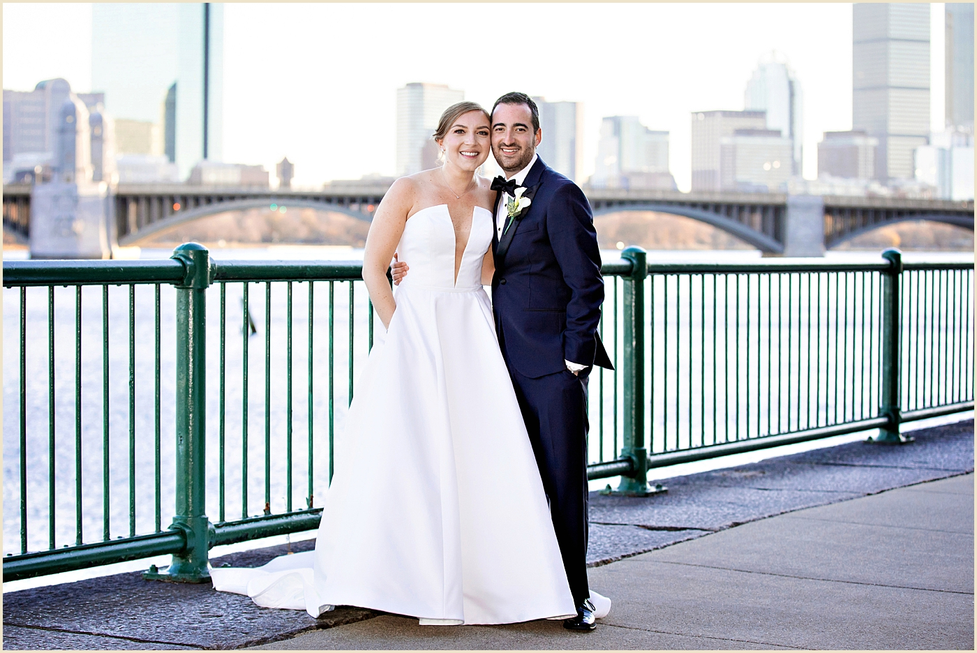 Waterfront Wedding Boston Royal Sonesta Cambridge