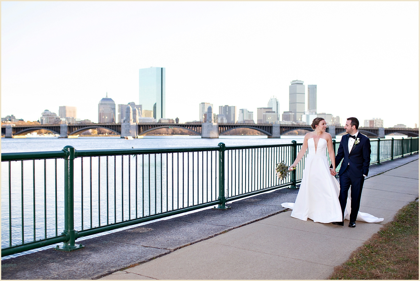 Charles River Wedding Royal Sonesta Cambridge