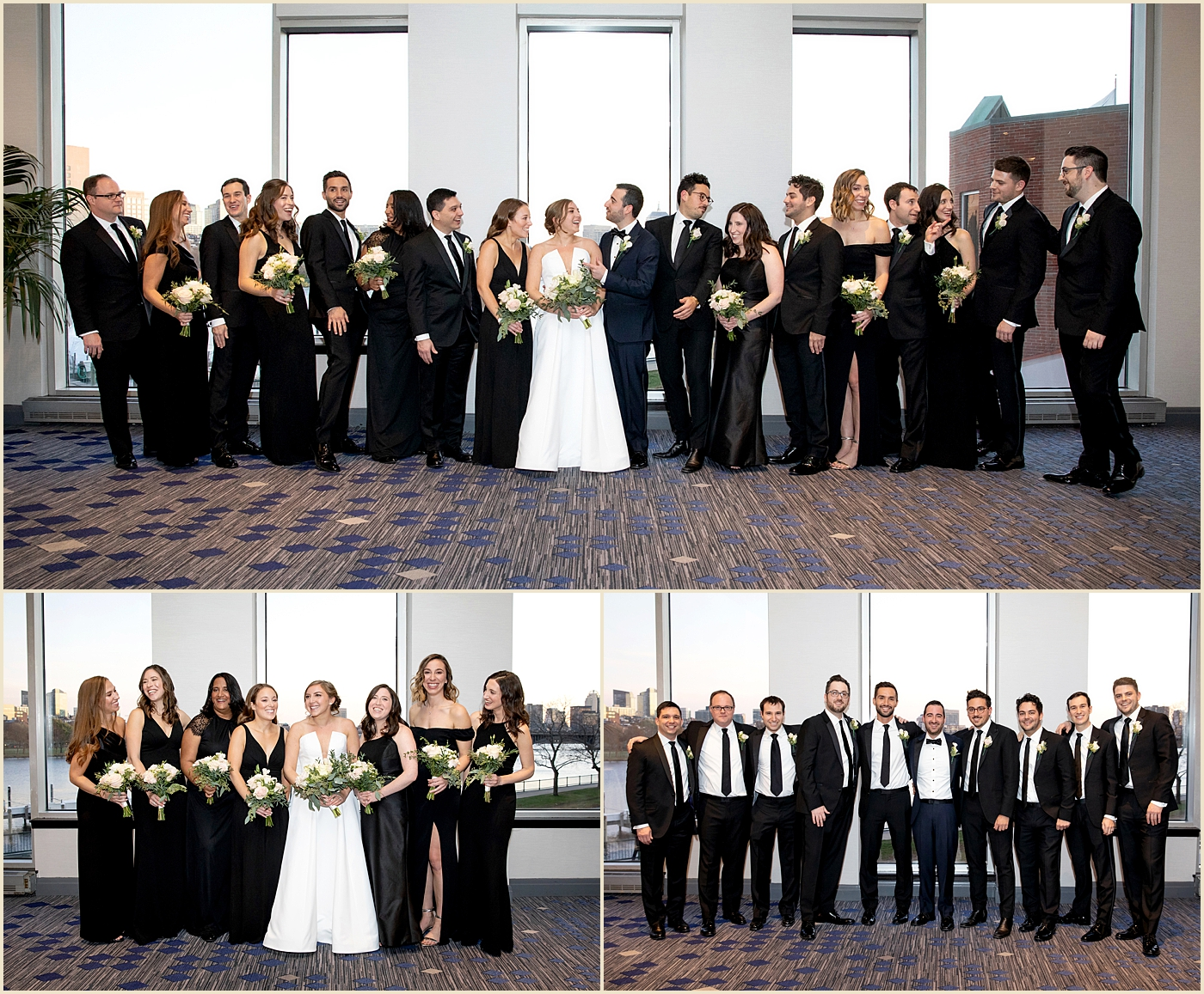 Royal Sonesta Cambridge Fall Wedding