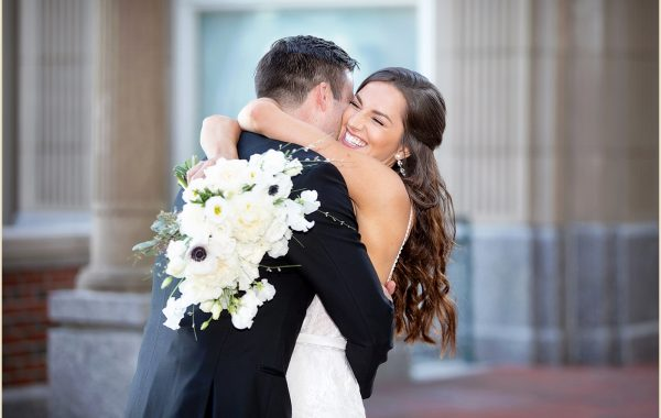 Winter Wedding at the Boston Harbor Hotel of Taylor and John