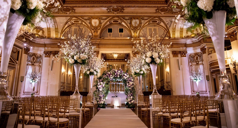 Photograph of Wedding Ceremony Setup
