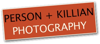 Person + Killian Photography logo