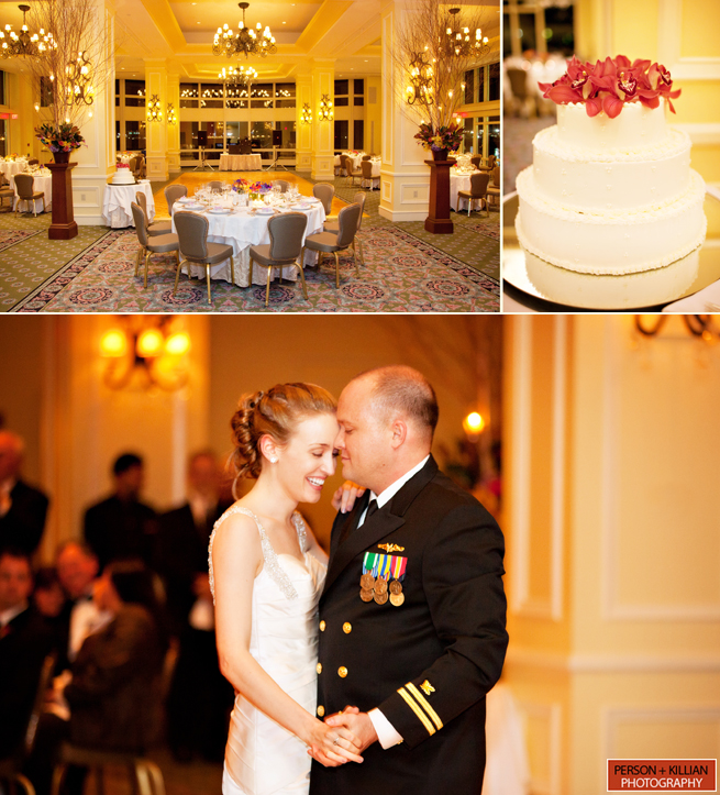 Ceremony And Reception In Same Room: Boston Harbor Hotel Wedding Photography