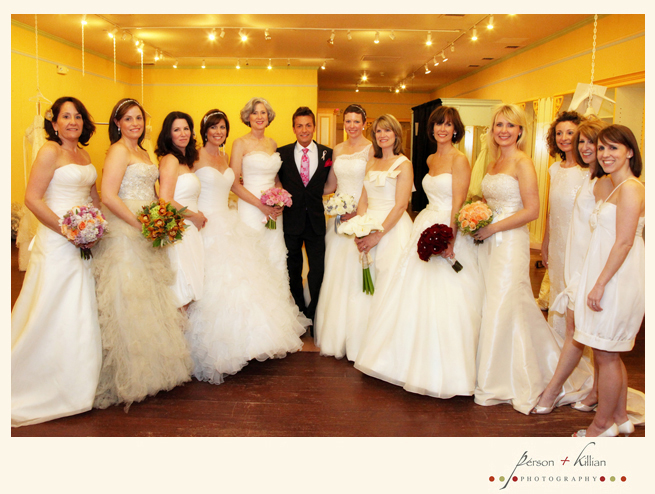 2010 brides against breast cancer event person killian for Wedding dress rental manhattan