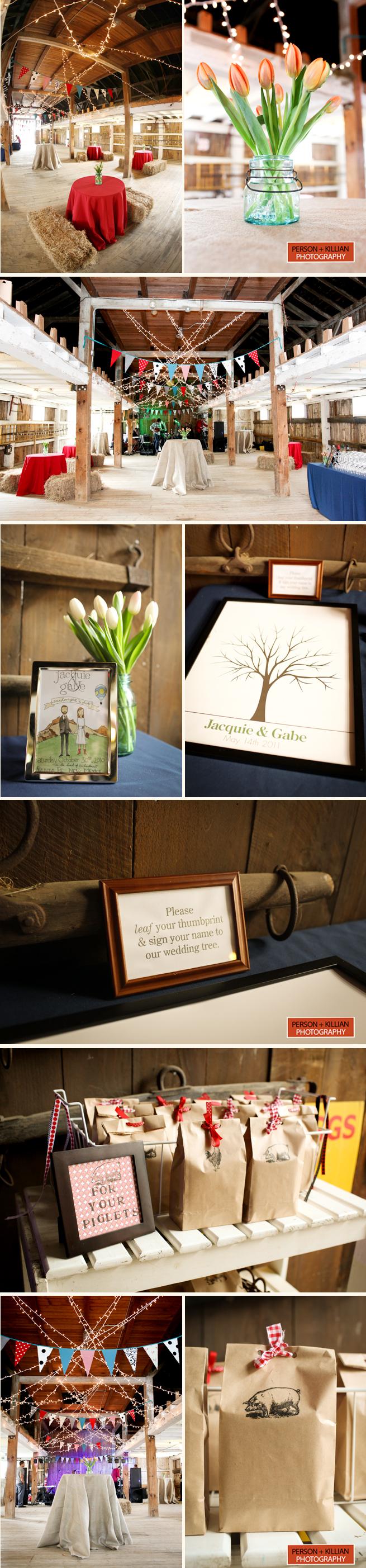 Diy Barn Style Wedding New England Codman Farm Lincoln Ma